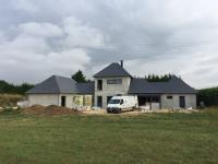 Isolation séparation d'une maison individuelle sur la commune de Hablonville