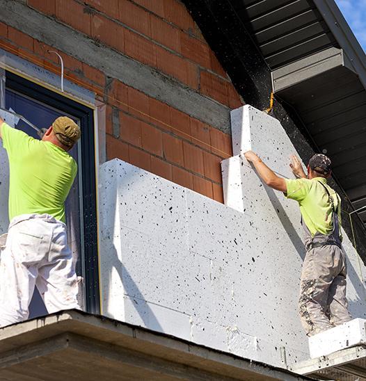 Rénovation façade Falaise